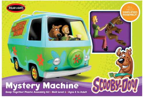 Polar Lights Scooby Doo Mystery Machine Snap Kit