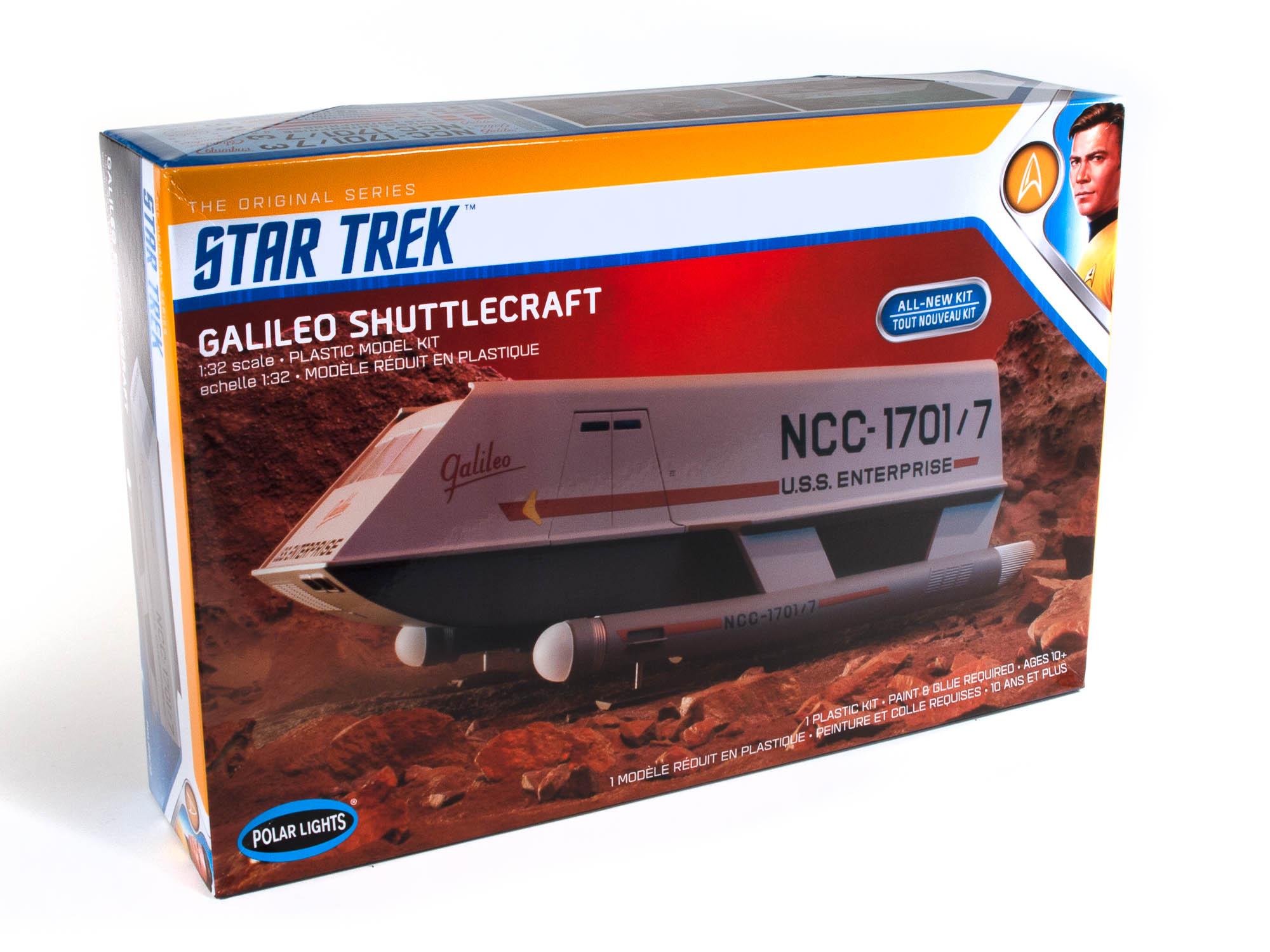 Polar Lights 1/32 Star Trek Galileo Shuttle Brand New Tooling