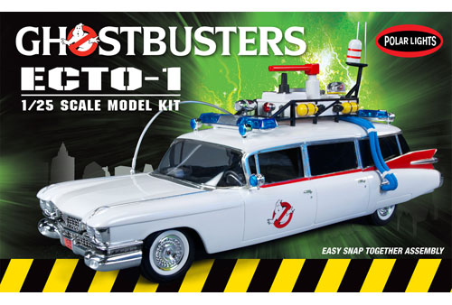 Polar Lights Ghostbusters Ecto-1 SNAP Kit