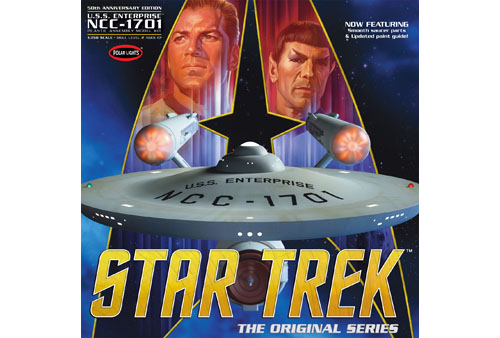 Polar Lights Star Trek TOS Enterprise NCC-1701 50th Anniversary Edition