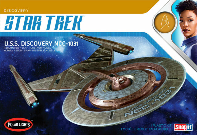 Polar Lights Star Trek USS Discovery NCC-1031 Snap Kit