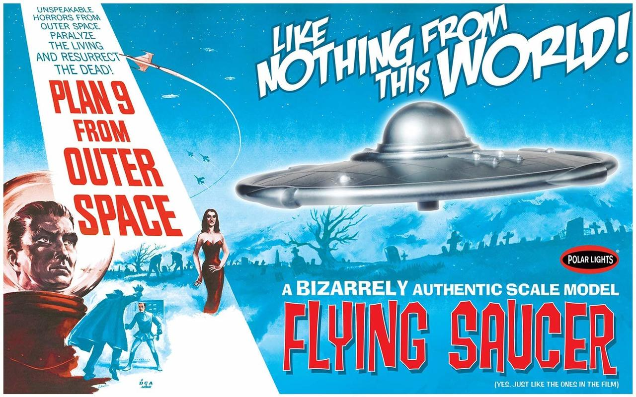 Polar Lights Plan 9 from Outer Space Flying Saucer