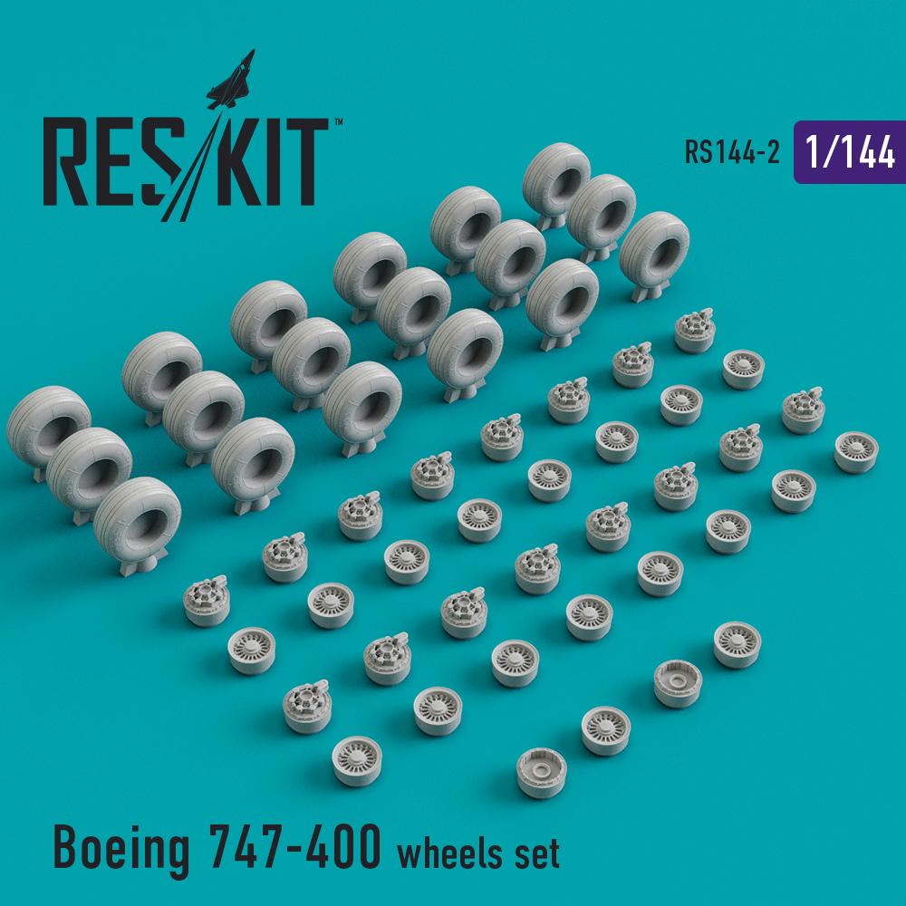 Res/Kit Boeing 747-400 ER/ERF, wheels set