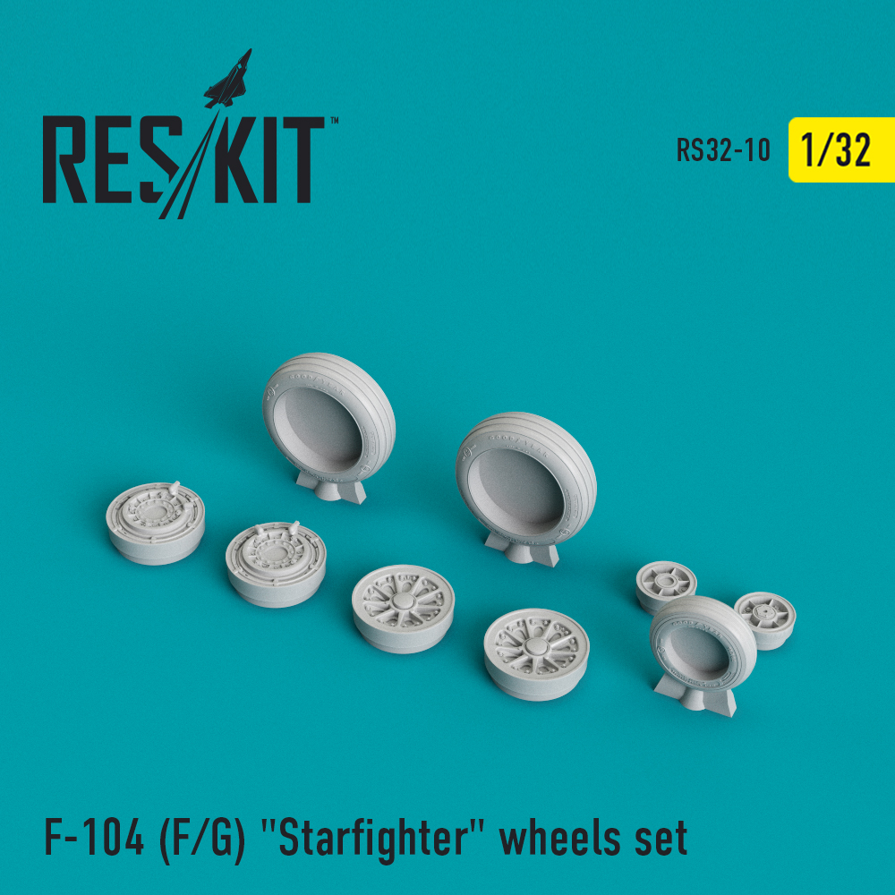"Res/Kit F-104 (F/G) ""Starfighter"" wheels set"