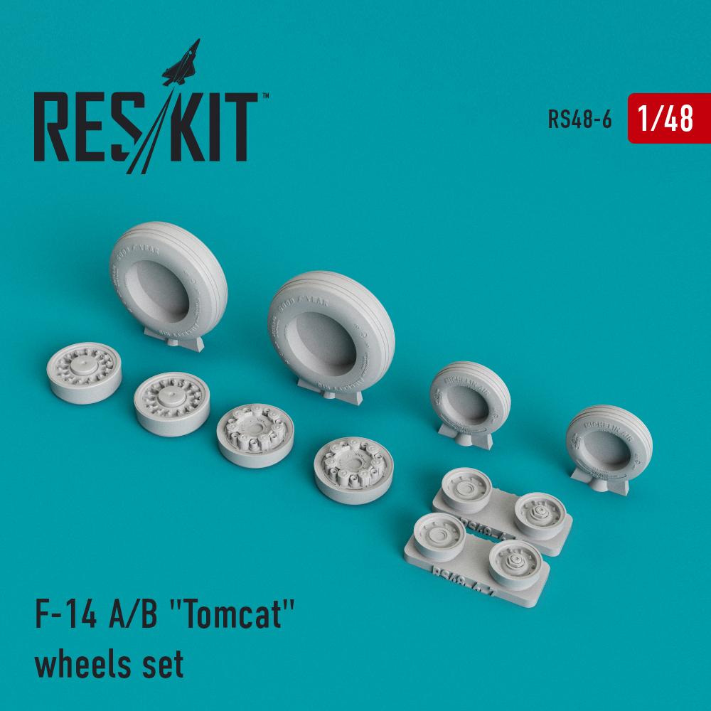 "Res/Kit F-14 A/B ""Tomcat"" wheels set"
