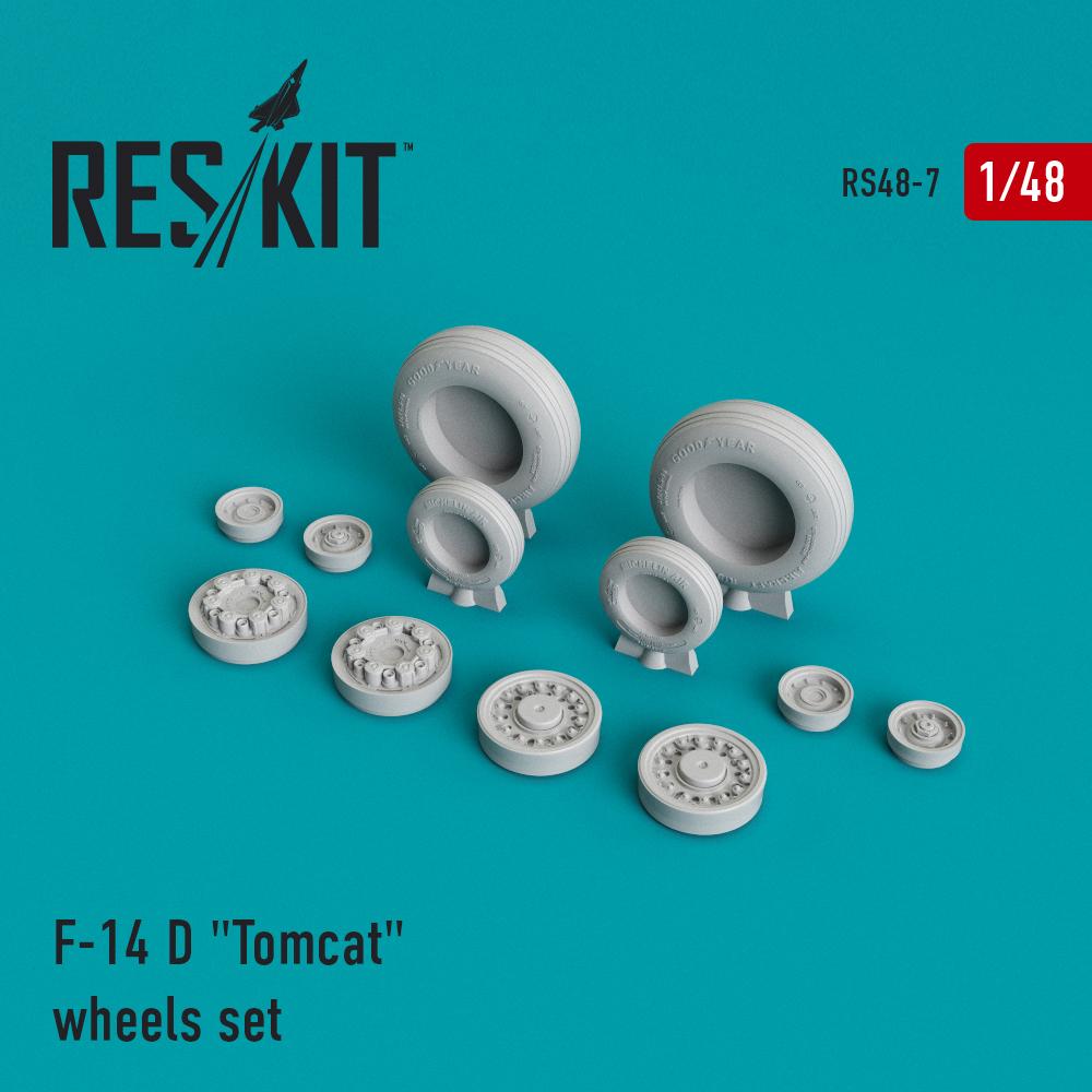 "Res/Kit F-14 D ""Tomcat"" wheels set"