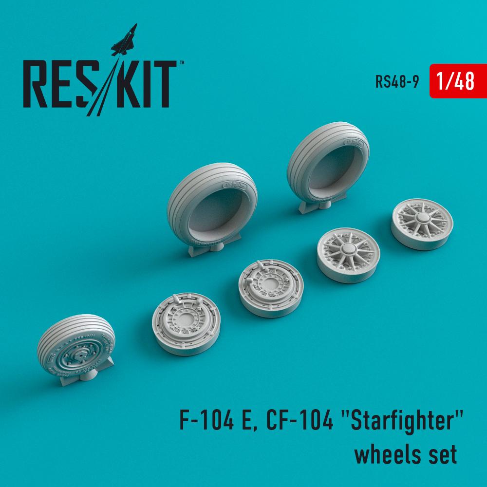 "Res/Kit F-104 E, CF-104 ""Starfighter"" wheels set"