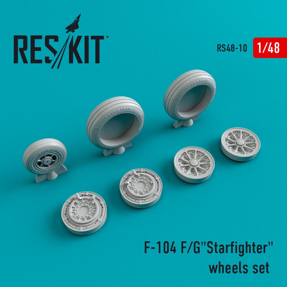 "Res/Kit F-104 F/G""Starfighter"" wheels set"