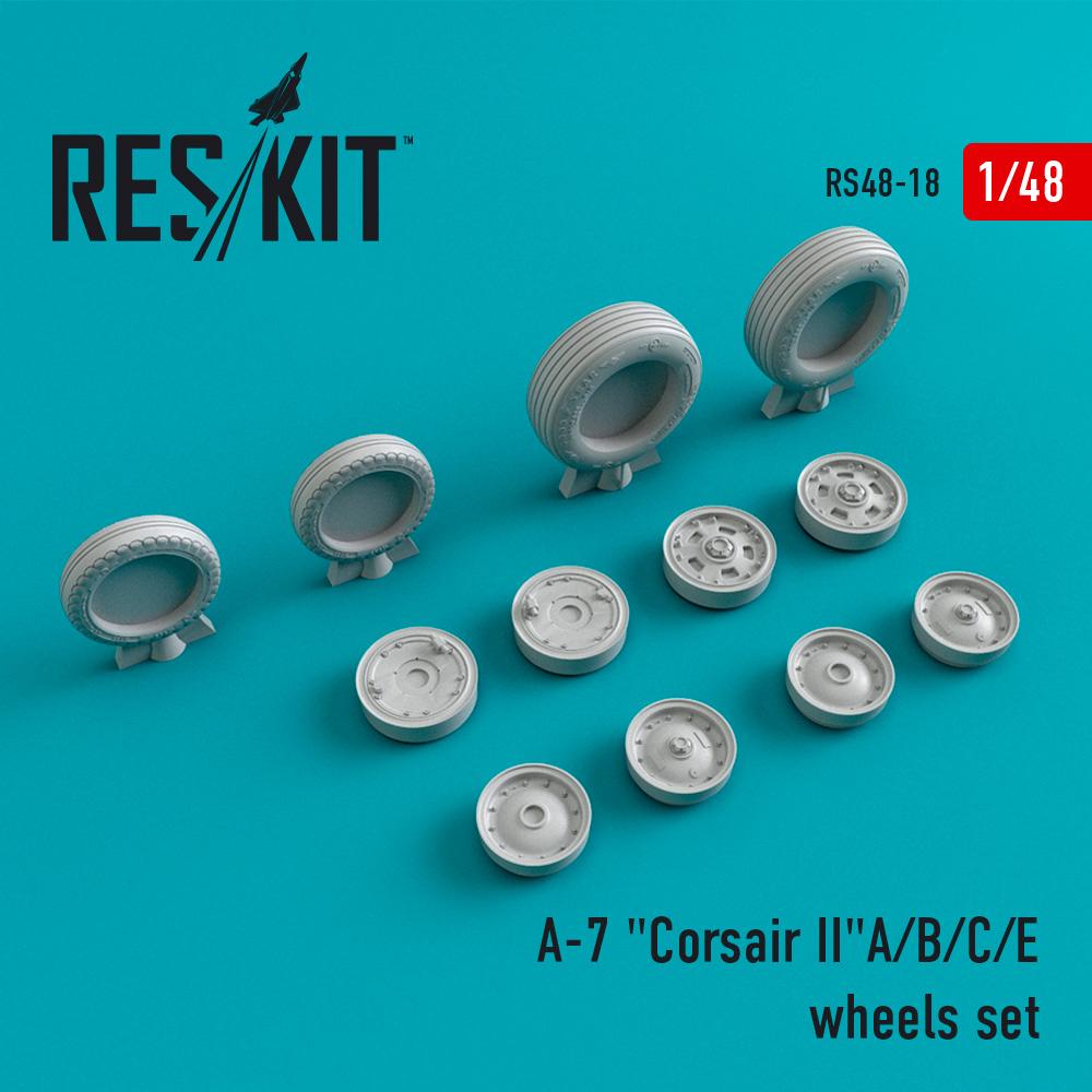 "Res/Kit A-7 ""Corsair II""A/B/C/E wheels set"