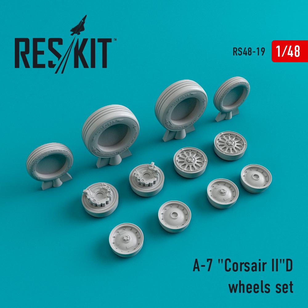 "Res/Kit A-7 ""Corsair II""D wheels set"