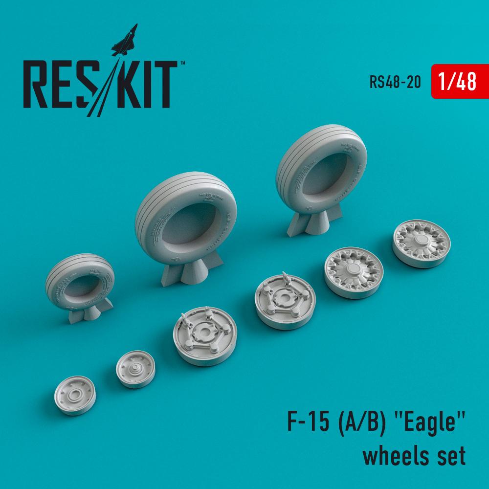 "Res/Kit F-15 (A/B) ""Eagle"" wheels set"