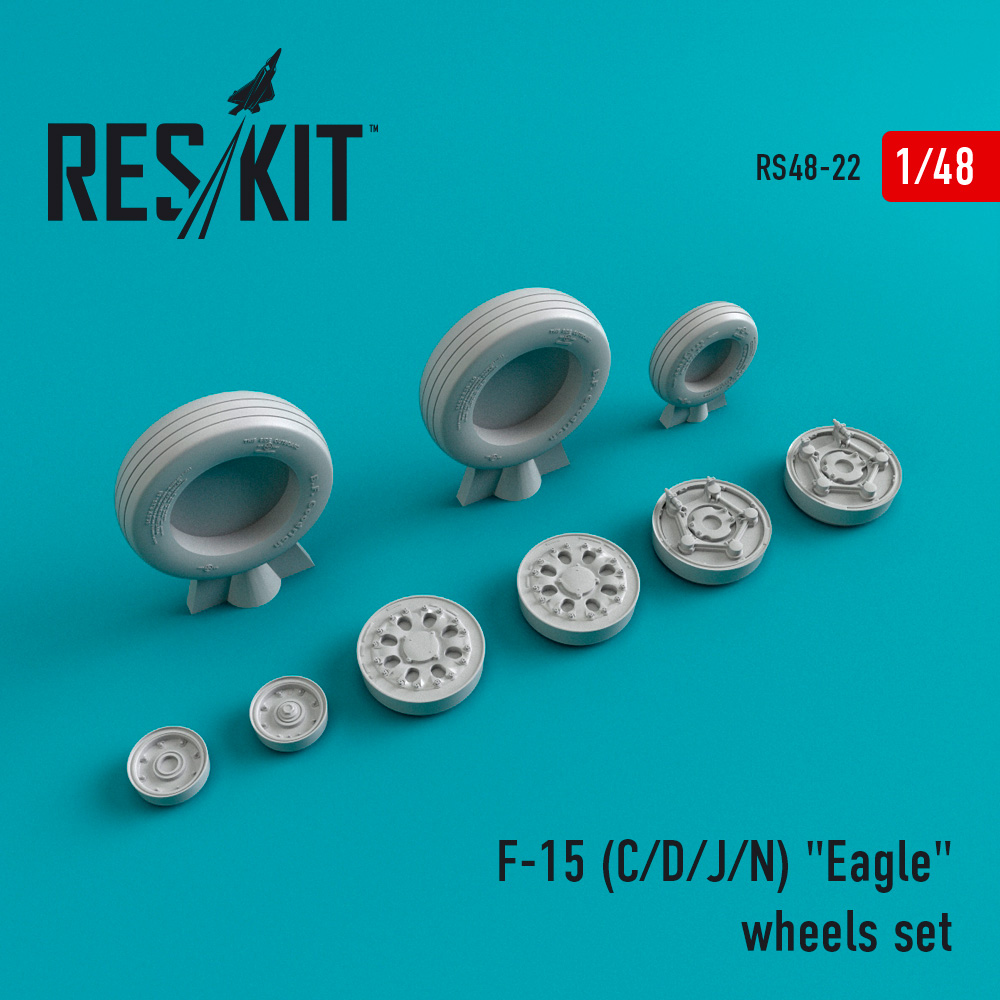 """Res/Kit F-15 (C/D/J/N) """"Eagle"""" wheels set"""