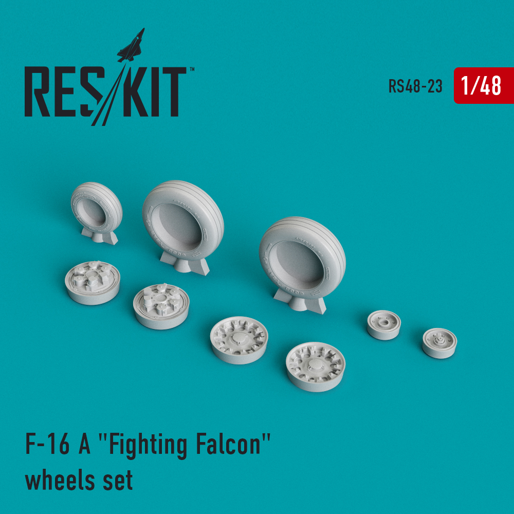 "Res/Kit F-16 A ""Fighting Falcon"" wheels set"
