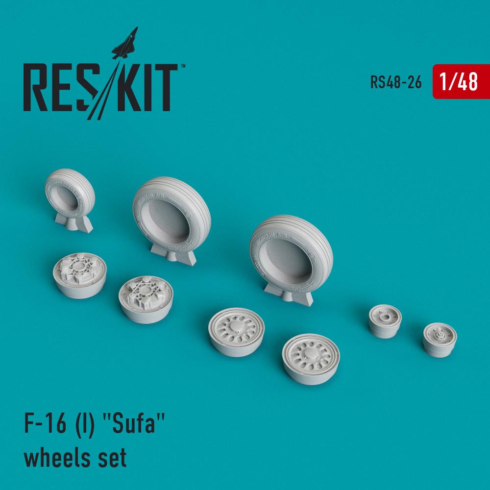 "Res/Kit F-16 (I) ""Sufa"" wheels set"