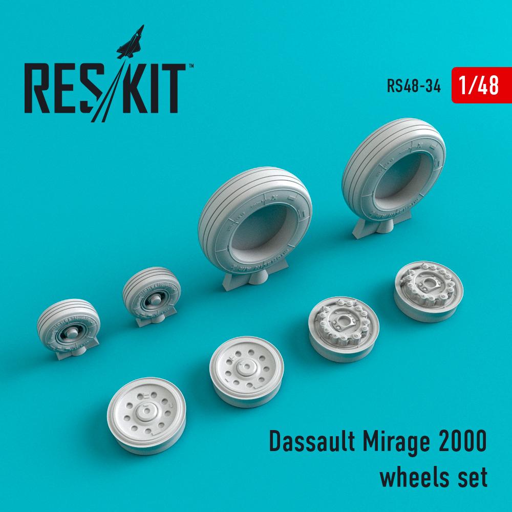 Res/Kit Dassault Mirage 2000 wheels set
