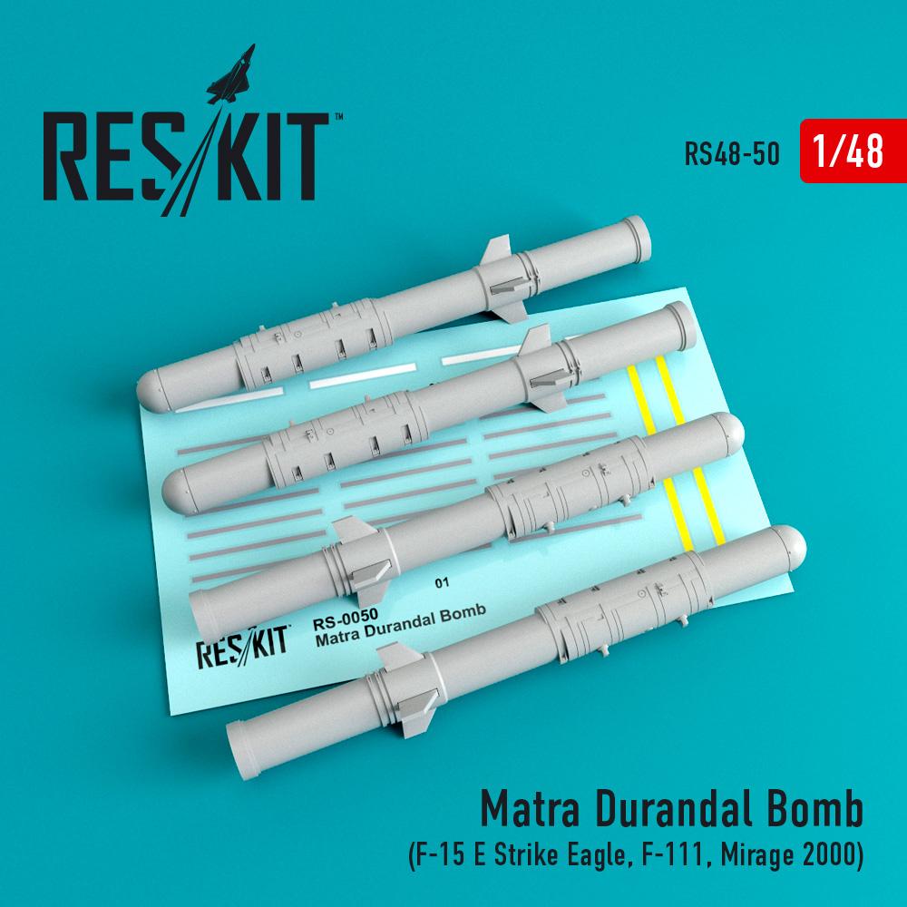 Res/Kit Matra Durandal Bomb (4 pcs) (F-15 E Strike Eagle, F-111, Mirage 2000)