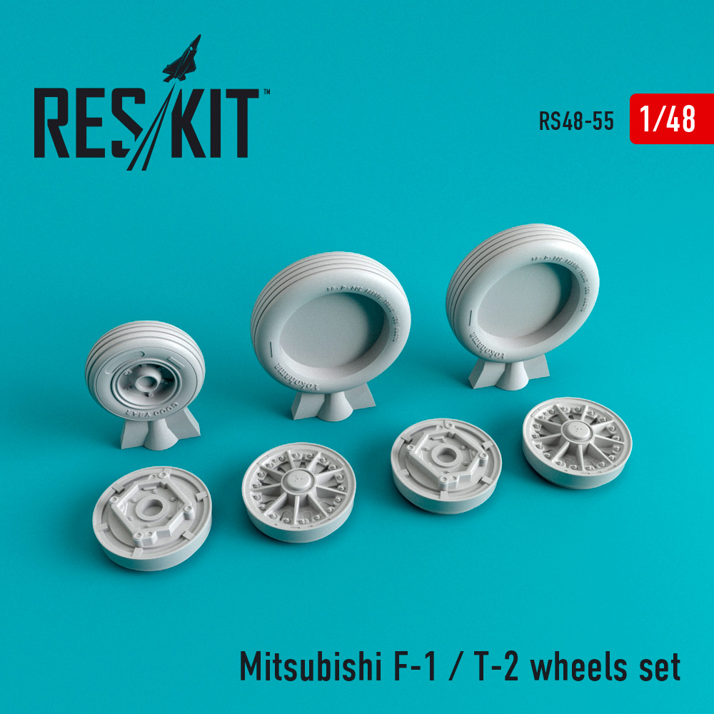Res/Kit Mitsubishi F-1 / T-2 wheels set