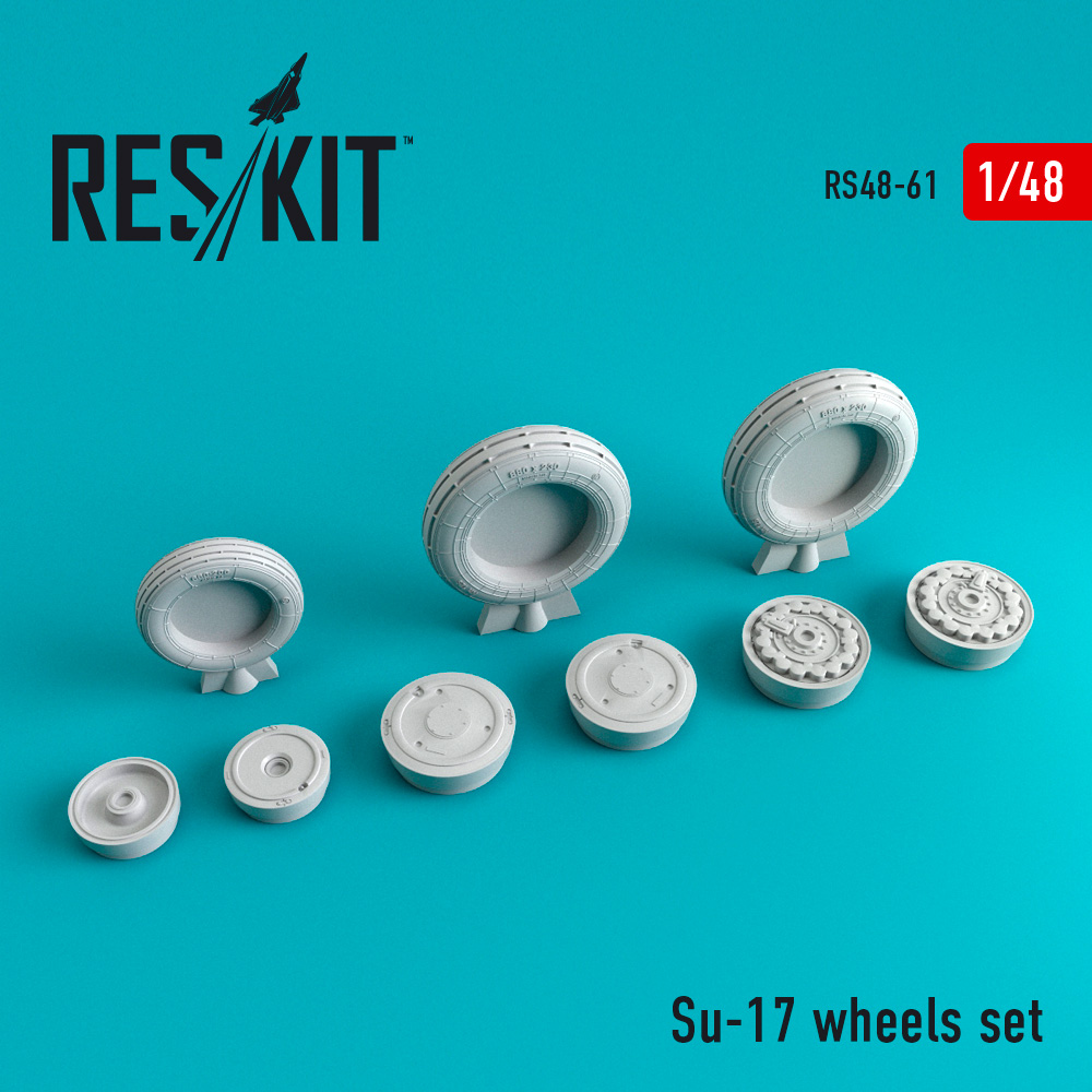 Res/Kit Su-17 wheels set