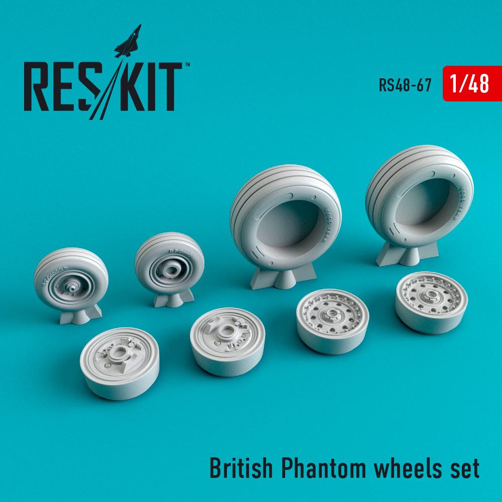 Res/Kit British Phantom wheels set