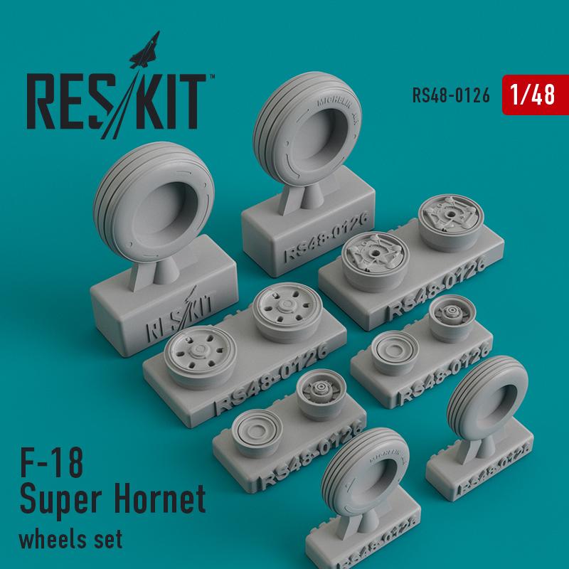 Res/Kit F-18 Super Hornet wheels set