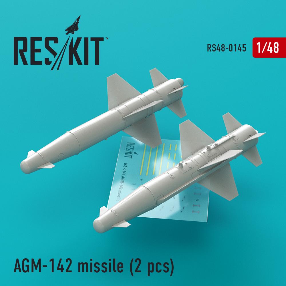 Res/Kit AGM-142 missile (2 pcs) (F-4, F-15, F-16, F-111)