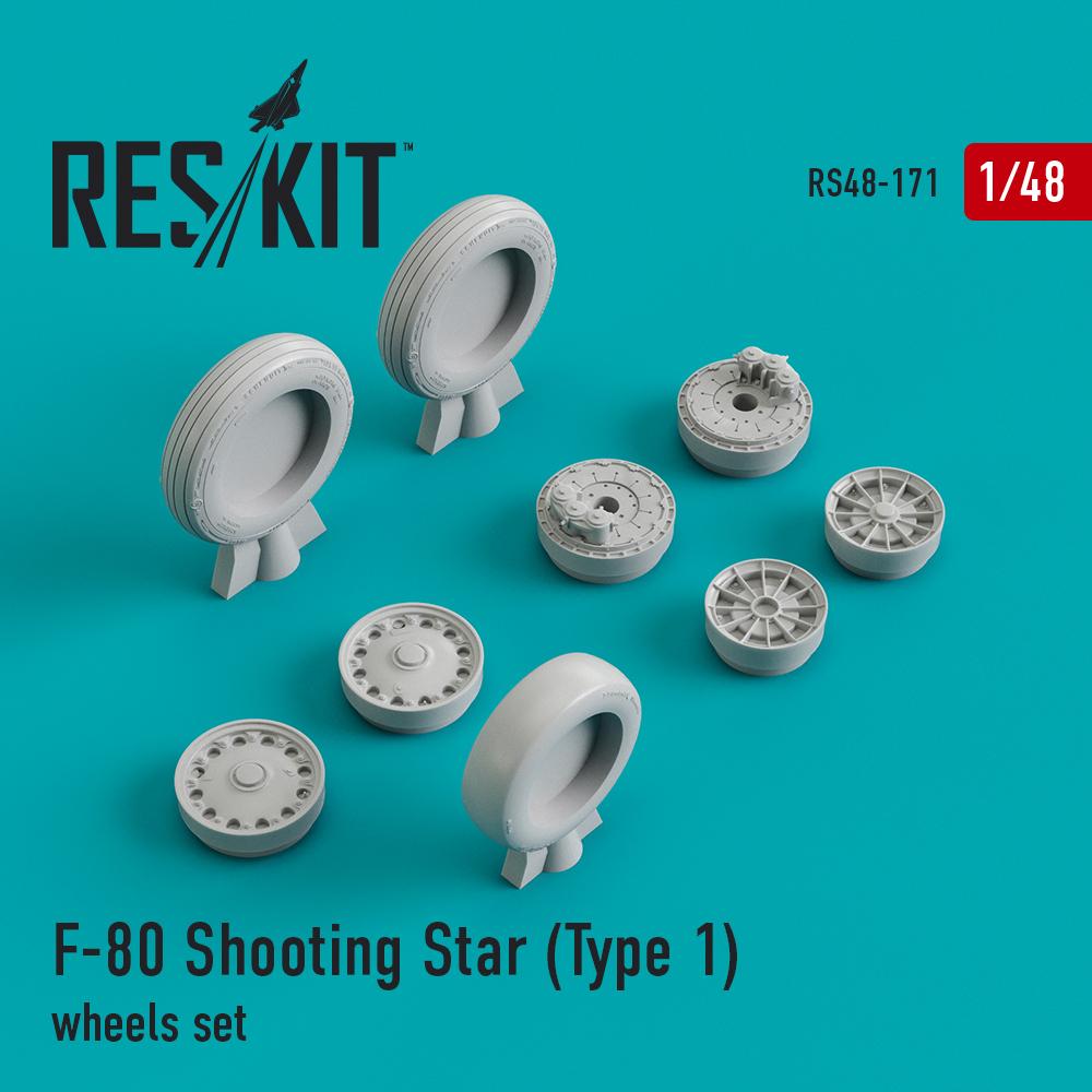Res/Kit F-80 Shooting Star (Type 1) wheels set
