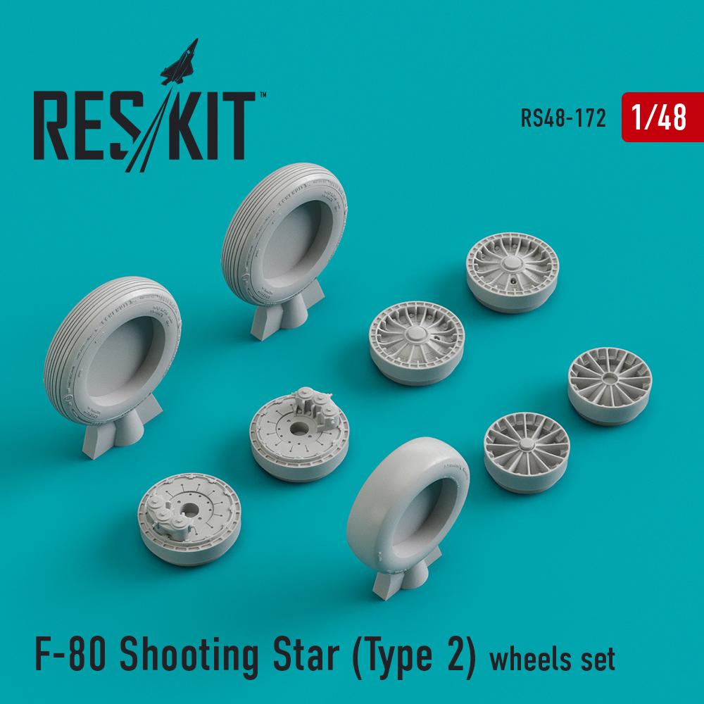Res/Kit F-80 Shooting Star (Type 2) wheels set