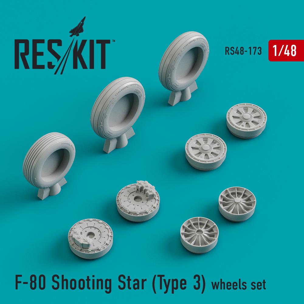 Res/Kit F-80 Shooting Star (Type 3) wheels set