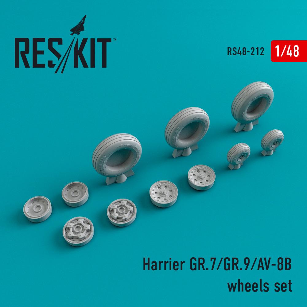 Res/Kit Harrier GR.7/GR.9/AV-8B wheels set