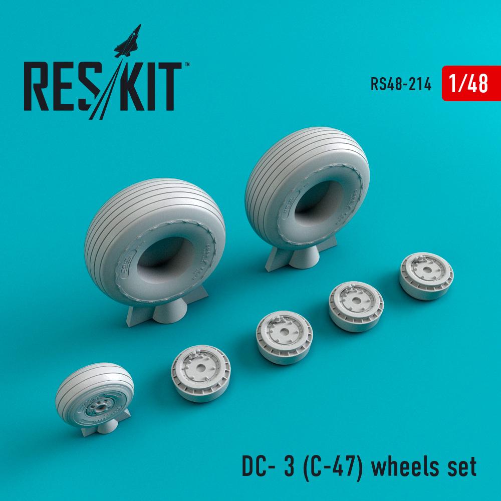 Res/Kit DC- 3 (C-47) wheels set