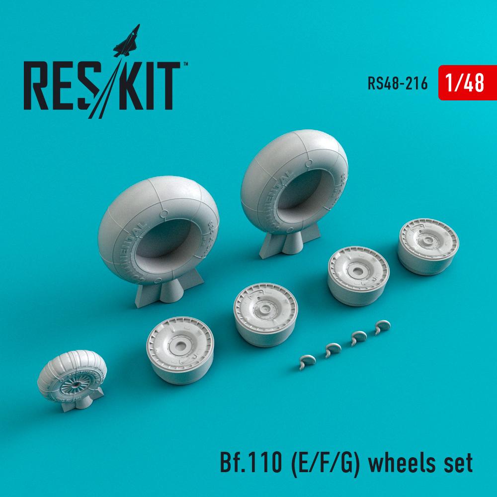 Res/Kit Bf.110 (E/F/G) wheels set
