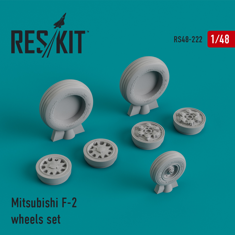 Res/Kit Mitsubishi F-2 wheels set