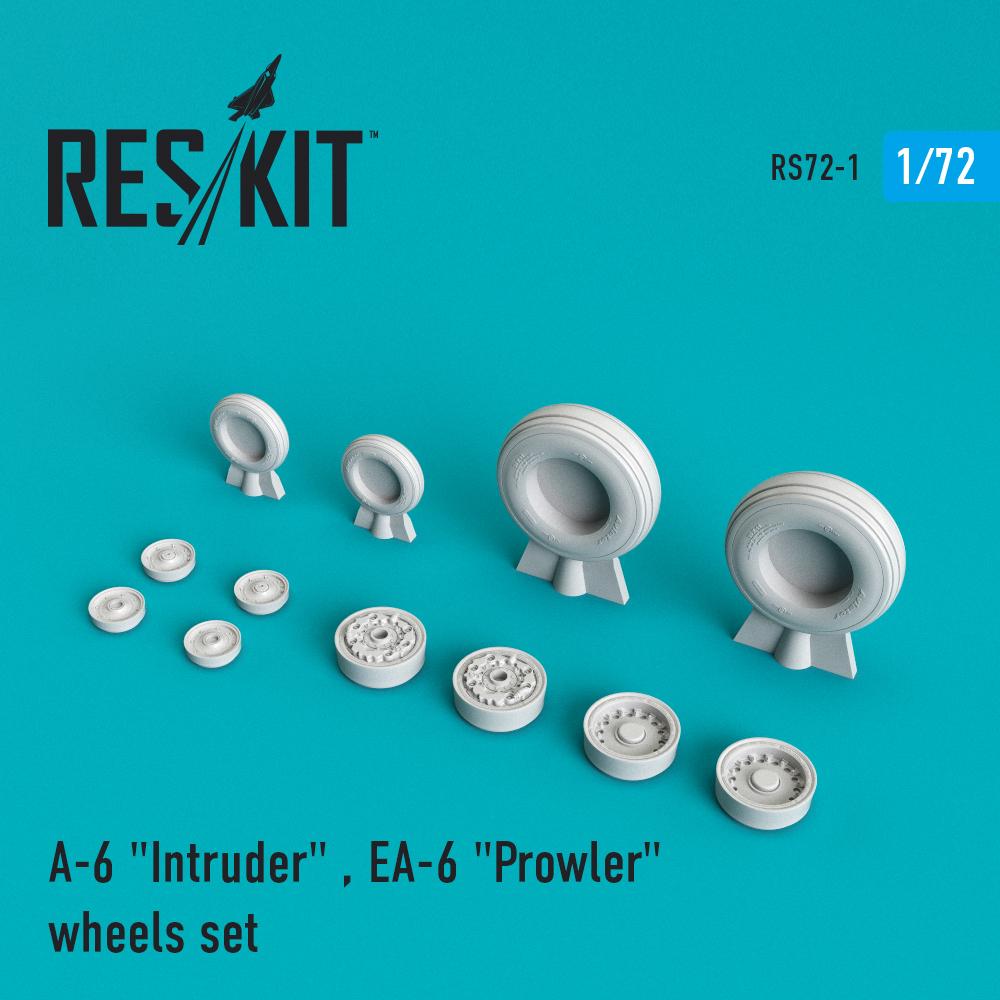 """Res/Kit A-6 Intruder / EA-6 """"Prowler"""" wheels set"""