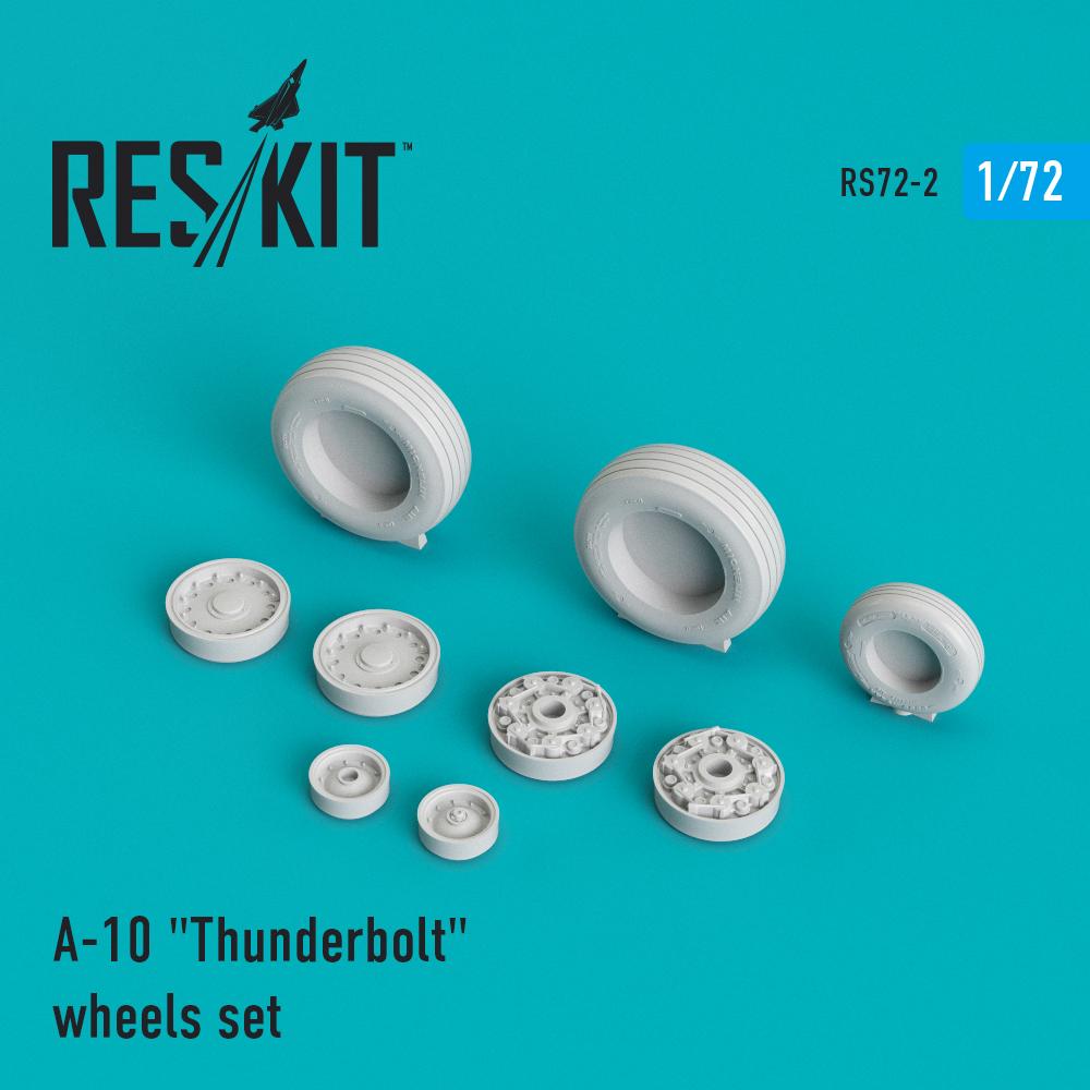 """Res/Kit A-10 """"Thunderbolt"""" wheels set"""