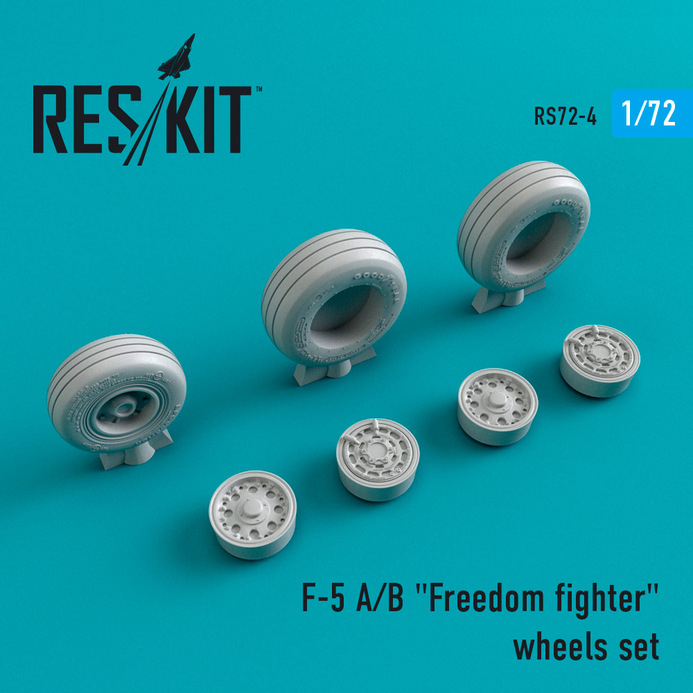 "Res/Kit F-5 A/B ""Freedom fighter"" wheels set"