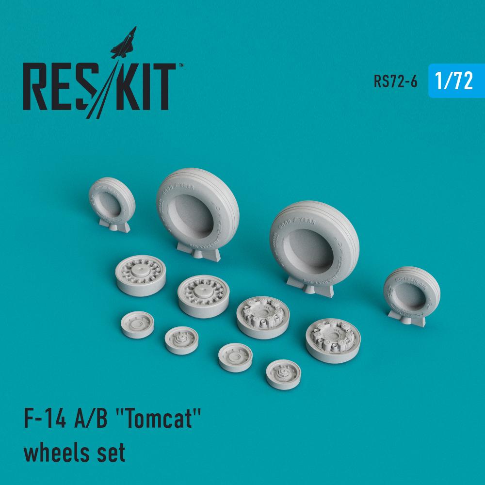 "Res/Kit F-14 (A/B) ""Tomcat"" wheels set"