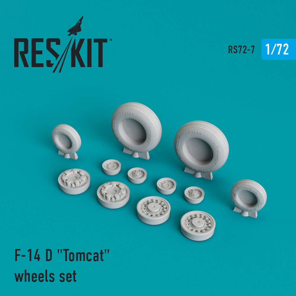 "Res/Kit F-14 (D) ""Tomcat"" wheels set"