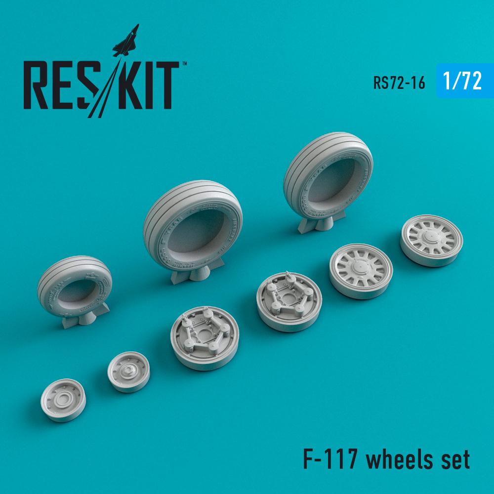 Res/Kit F-117 wheels set