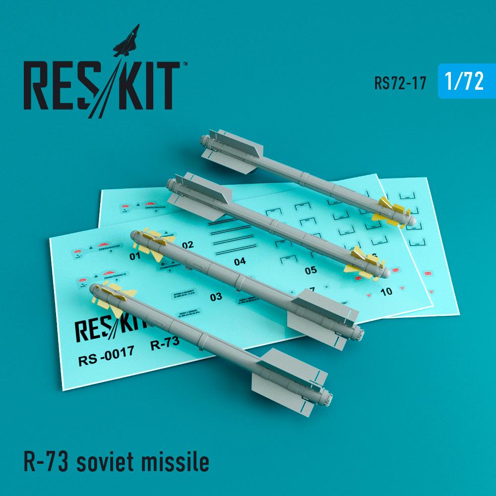 Res/Kit R-73 soviet missile (4 pcs) (MiG-29, Su-27/30/32/33/35/37)