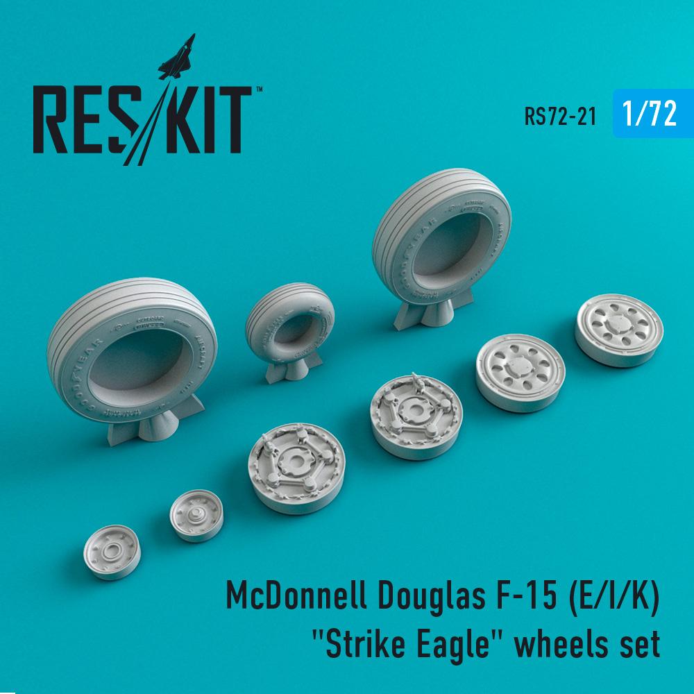 "Res/Kit McDonnell Douglas F-15 (E/I/K) ""Strike Eagle"" wheels set"