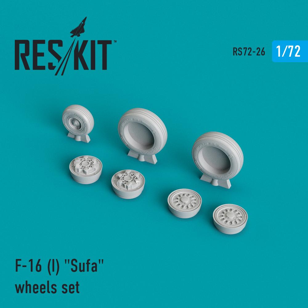 "Res/Kit General Dynamics F-16 (I) ""Sufa"" wheels set"