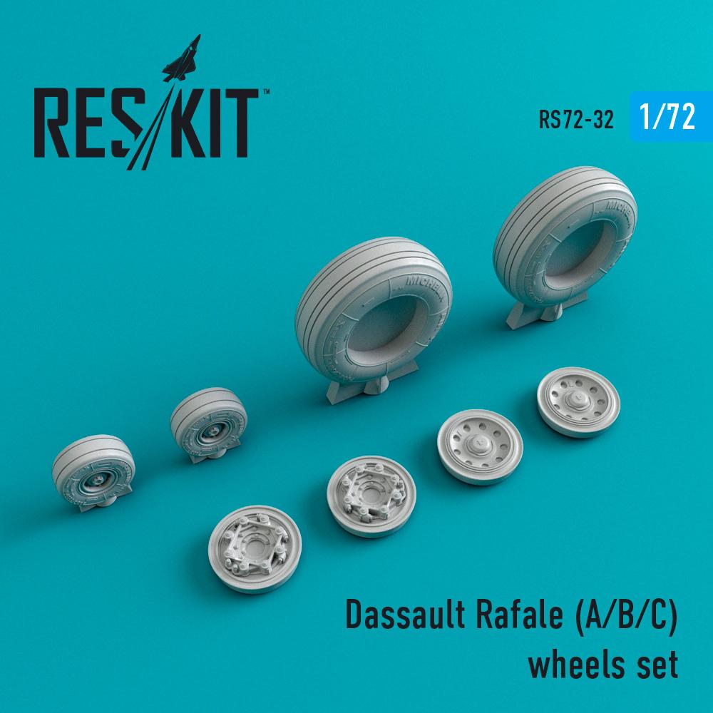 Res/Kit Dassault Rafale (A/B/C) wheels set