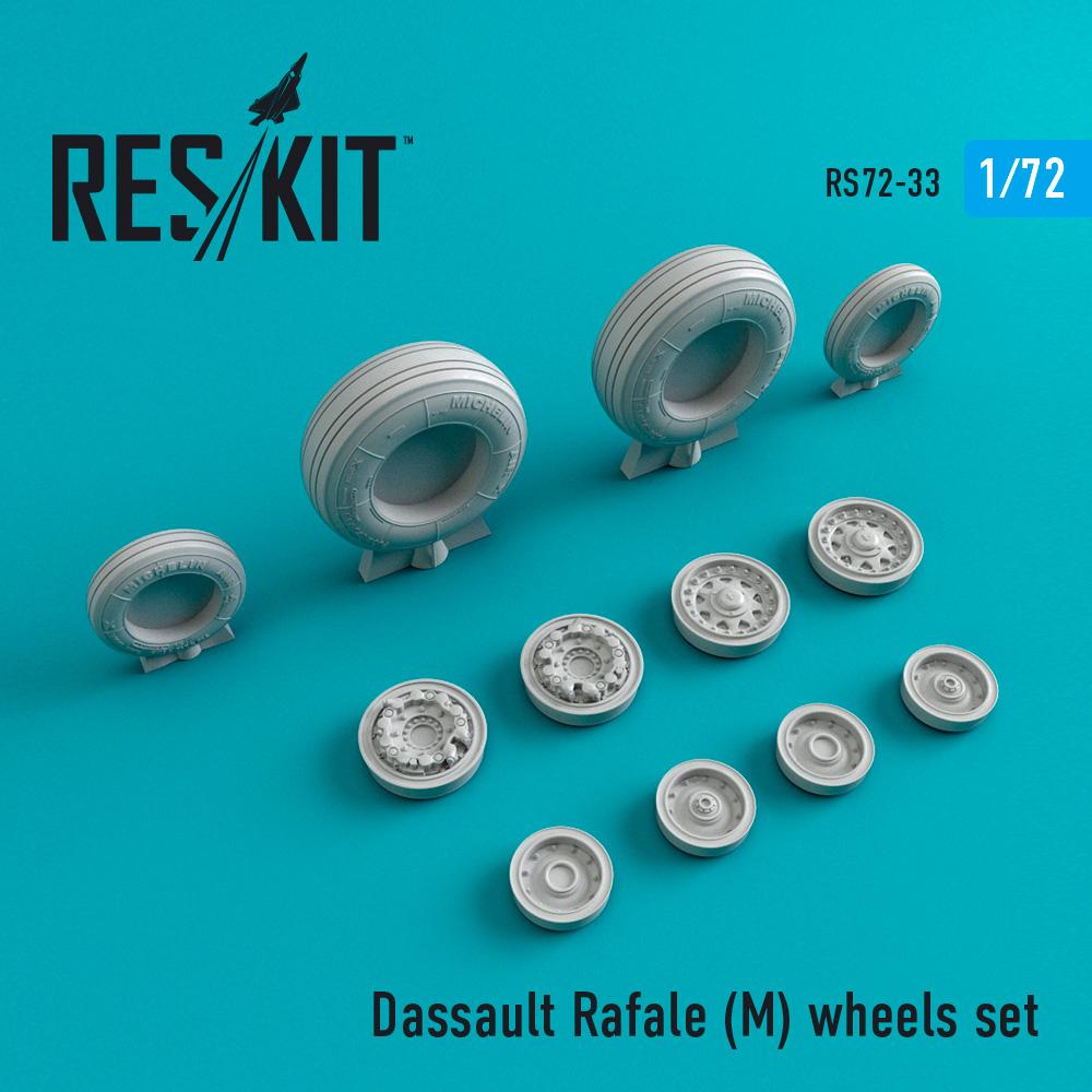 Res/Kit Dassault Rafale (M) wheels set