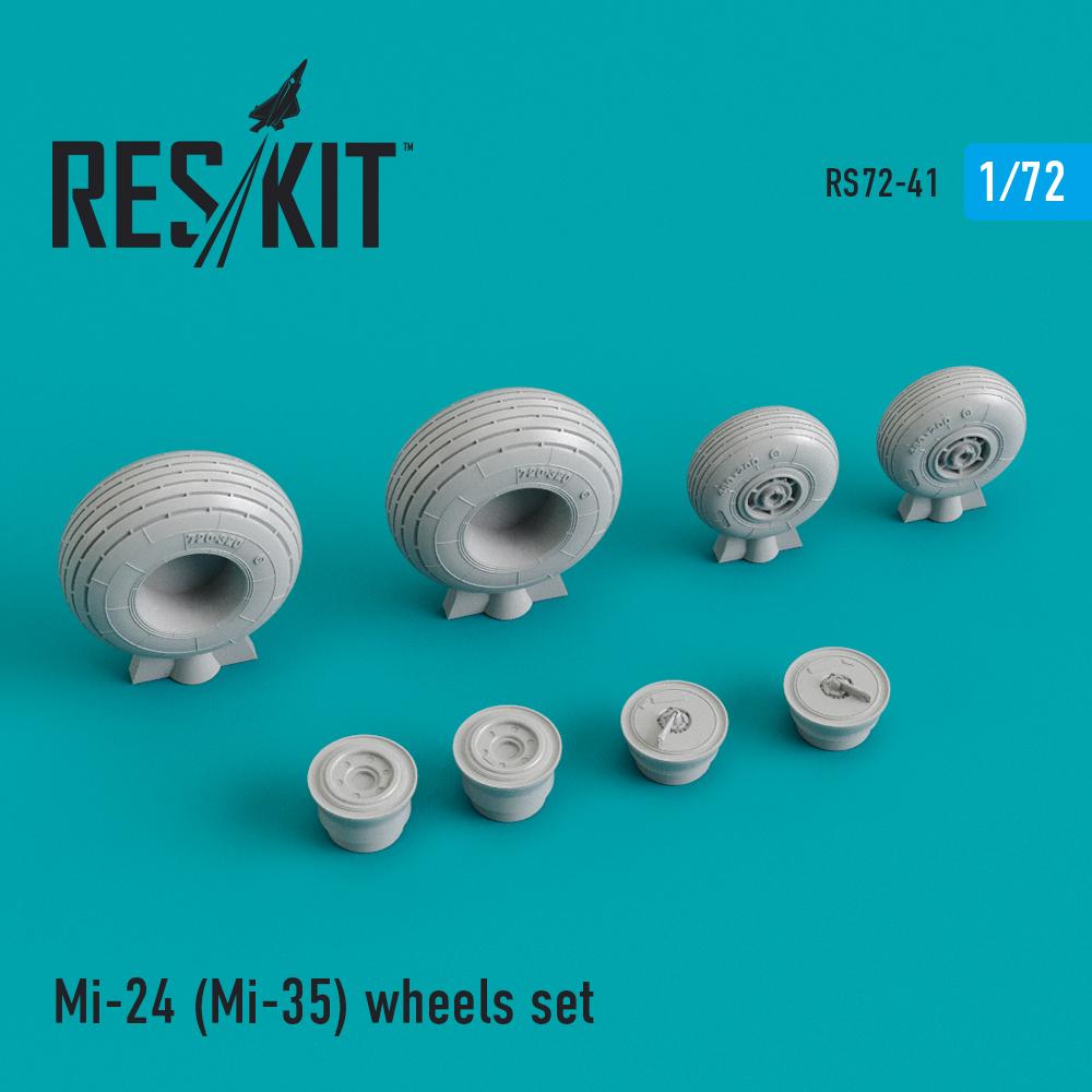 Res/Kit Mi-24 (Mi-35) wheels set