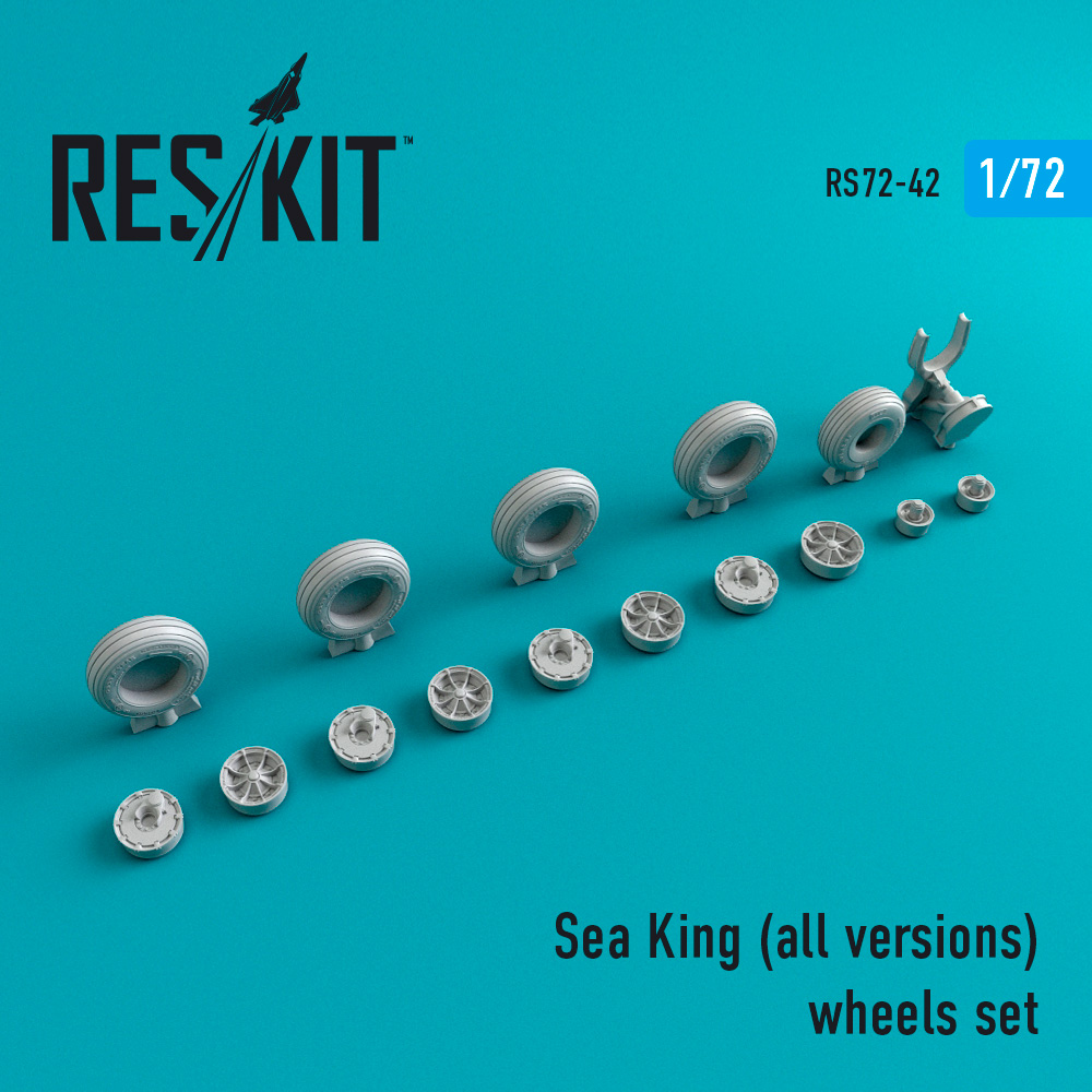 Res/Kit Sea King (all versions) wheels set