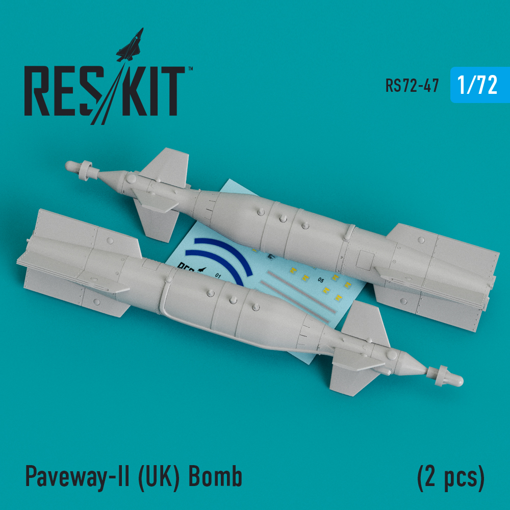 Res/Kit Paveway-II (UK) Bomb (2 pcs) (Tornado, Eurofighter,Buccaneer, Harrier )