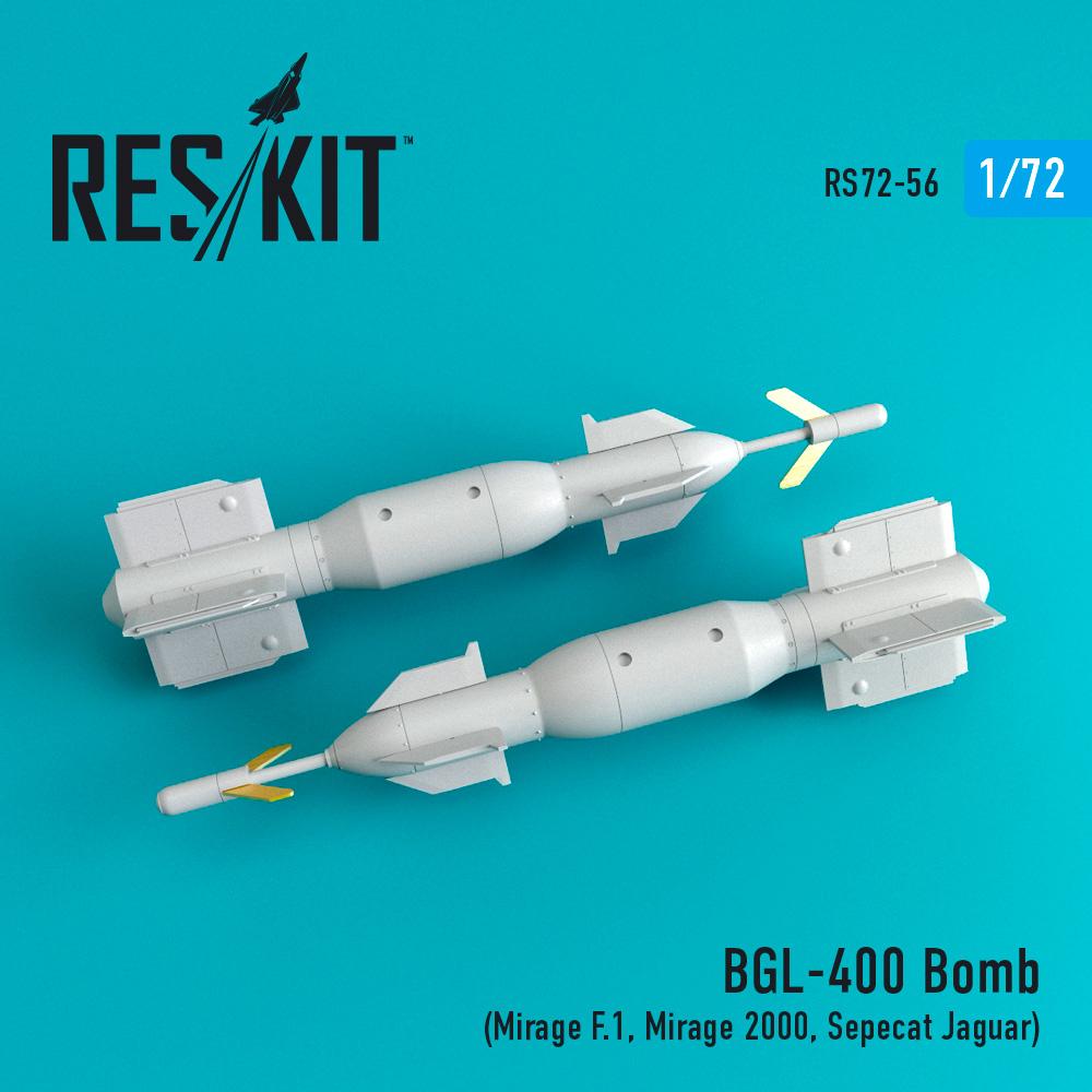 Res/Kit BGL-400 Laser guided bomb (2 pcs) (Mirage F.1, Mirage 2000, Sepecat Jaguar)