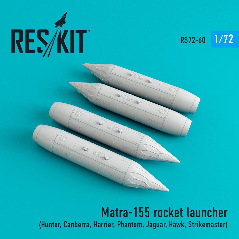 Res/Kit Matra-155 (4 pcs) (Hunter, Canberra, Harrier, Phantom, Jaguar, Hawk, Strikemaster,)