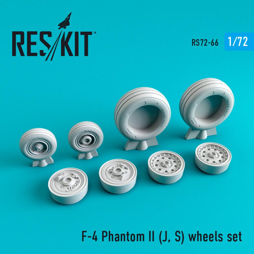 Res/Kit F-4 Phantom II (J, S) wheels set