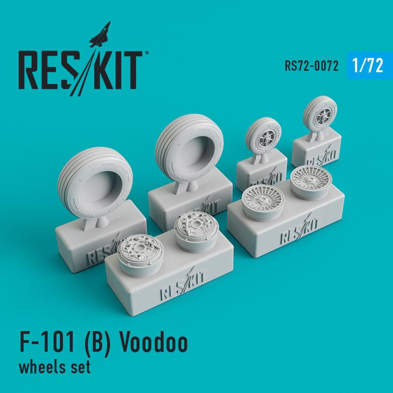 Res/Kit McDonnell F-101 (B) Voodoo wheels set
